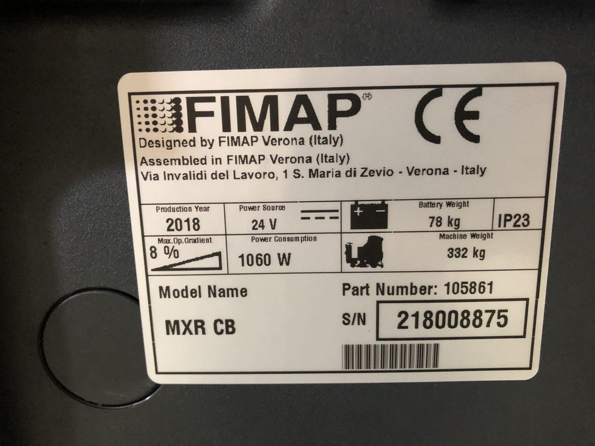 Fimap Mxr 3