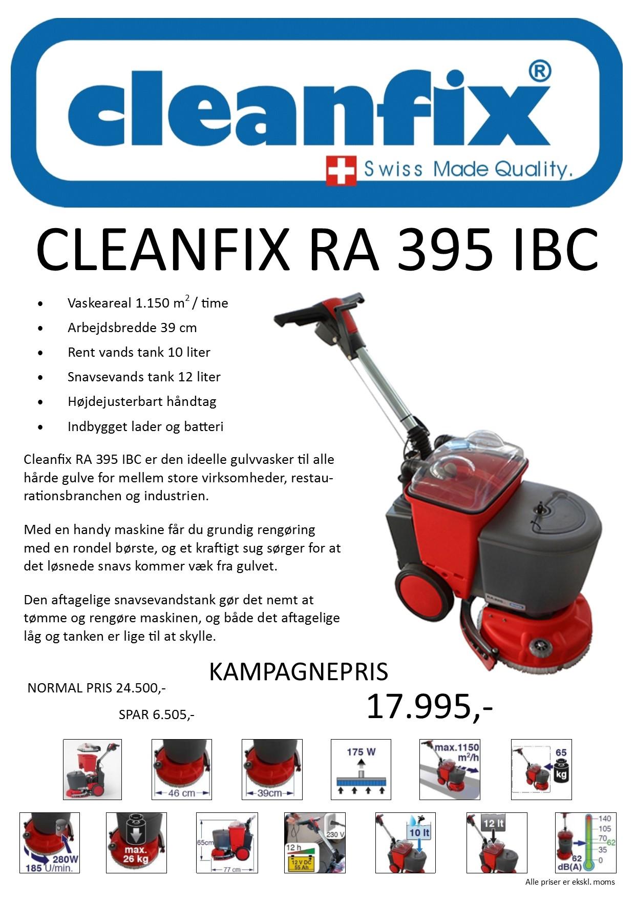 Cleanfix Kampagne Juni 2019