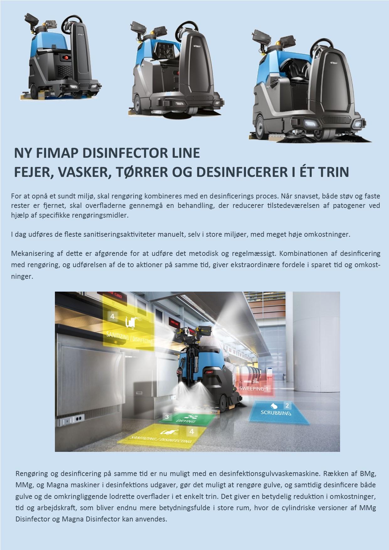 Disinfector Line 1