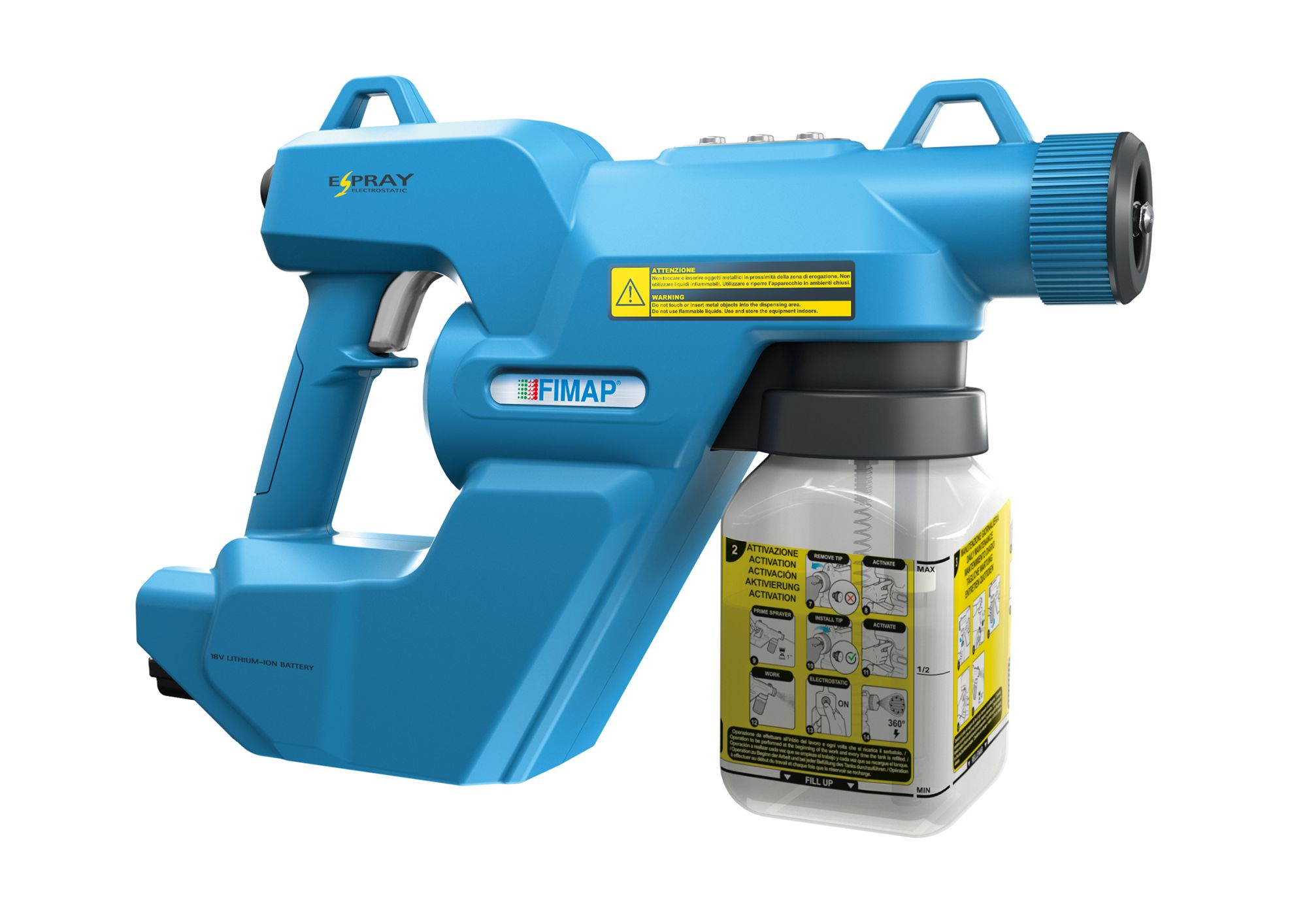 Fimap E-spray Electrostatic